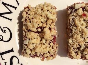 Glute Free Raspberry Cakie