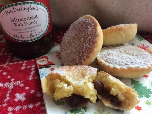 Gluten free Mince Pies with Frangipan