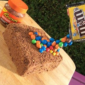 Gluten free chocolate carrot cake