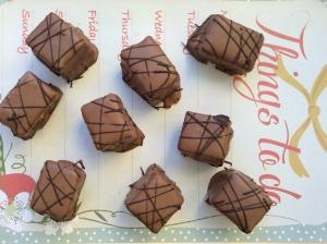 Gluten free Chocolate Marshmallow Bites