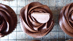 Gluten Free Chocolate & Orange Cupcakes