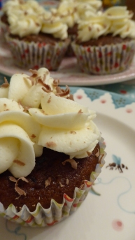 Gluten free Sticky Caramel Cupcakes