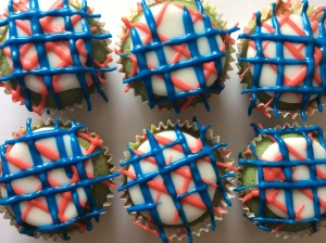 gluten free independence day cupcakes
