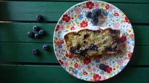 Gluten Free Blueberry Loaf Cake
