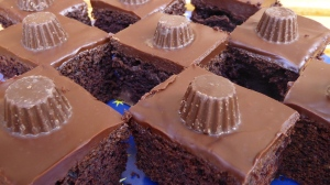 Gluten free Chocolate and Peanut Butter Squares