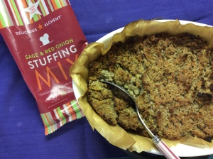 Gluten free Sage and Red Onion Stuffing