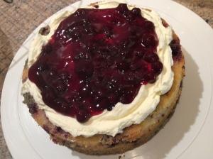 Gluten Free Blackcurrant Cake Filling